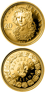 20 euro coin Flora in the Art: The Renaissance | Italy 2013