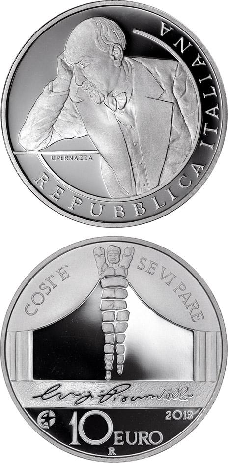 Монета «Луиджи Пиранделло»