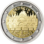 2 euro coin 400th Anniversary of the completion of the Basilica of San Marco in Venice | Italy 2017
