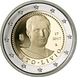 2 euro coin Death of Titus Livius 2000 Years | Italy 2017