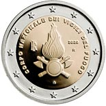 2 euro coin The Vigili del Fuoco - National Firefighters Corps | Italy 2020