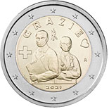 2 euro coin Healthcare professions | Italy 2021