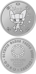 100  coin Miraitowa | Japan 2020
