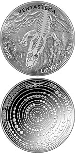 5 euro coin Ventastega | Latvia 2020