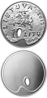 10 litas coin Fine art  | Lithuania 2012