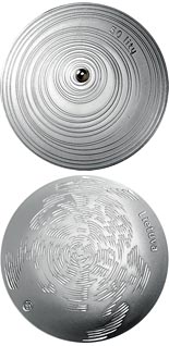 50 litas coin Form | Lithuania 2014