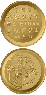 50 euro coin The minting of coins in the Grand Duchy of Lithuania  | Lithuania 2015