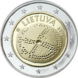 2 euro coin The Baltic Culture | Lithuania 2016