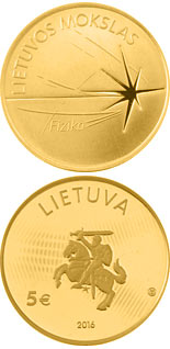 5 euro coin Physics | Lithuania 2016