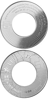 5 euro coin Diplomacy  | Lithuania 2018