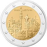 2 euro coin The Hill of Crosses | Lithuania 2020