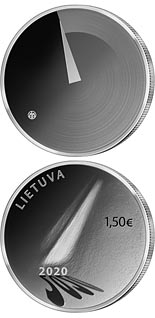 1.5 euro coin The Hope | Lithuania 2020