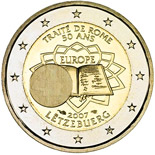 2 euro coin 50th Anniversary of the Treaty of Rome | Luxembourg 2007
