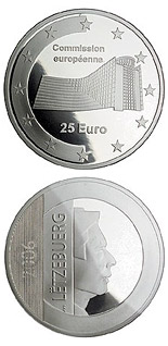 25 euro European Commission  - 2006 - Series: European institutions - Luxembourg