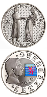 700 eurocents coin 700th Anniversary Of The Wedding Of John Of Luxembourg With Elisabeth Of Bohemia | Luxembourg 2010