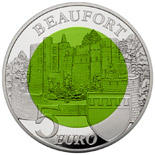 5 euro coin Beaufort | Luxembourg 2013