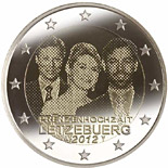 2 euro coin Royal Wedding | Luxembourg 2012