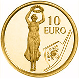 10 euro coin Gëlle Fra - Golden Lady | Luxembourg 2013