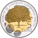 5 euro Reinnete - 2014 - Series: Fauna and Flora in Luxembourg - Luxembourg