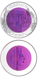 5 euro coin Castle of  Clervaux | Luxembourg 2016