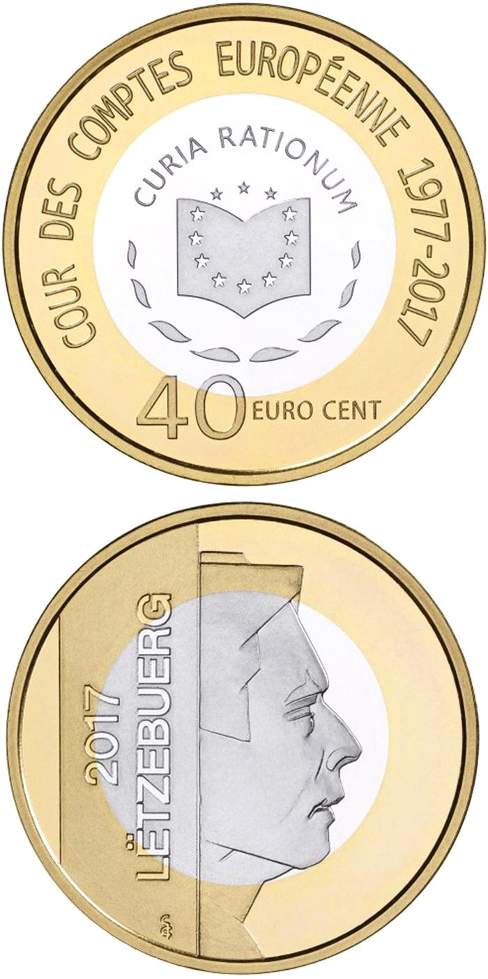 0.4 euro European Court of Auditors - 2017 - Luxembourg