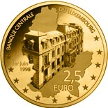 5 euro coin 20th Anniversary of BCL creation | Luxembourg 2018