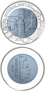 5 euro coin Bourglinster Castle | Luxembourg 2019