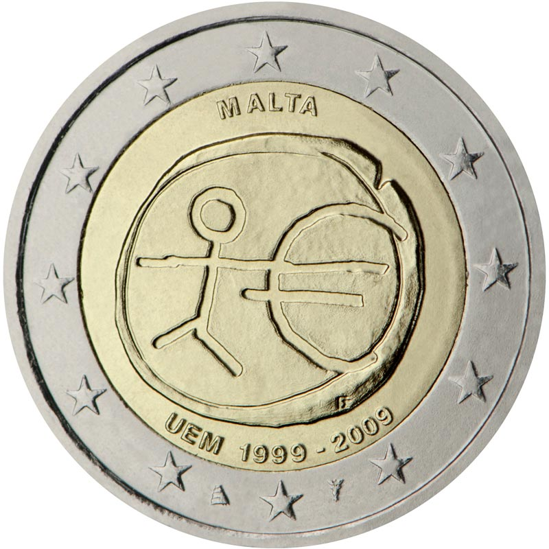 2 Euro MГјnzen Malta