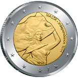 2 euro coin 50 Years of Independence | Malta 2014