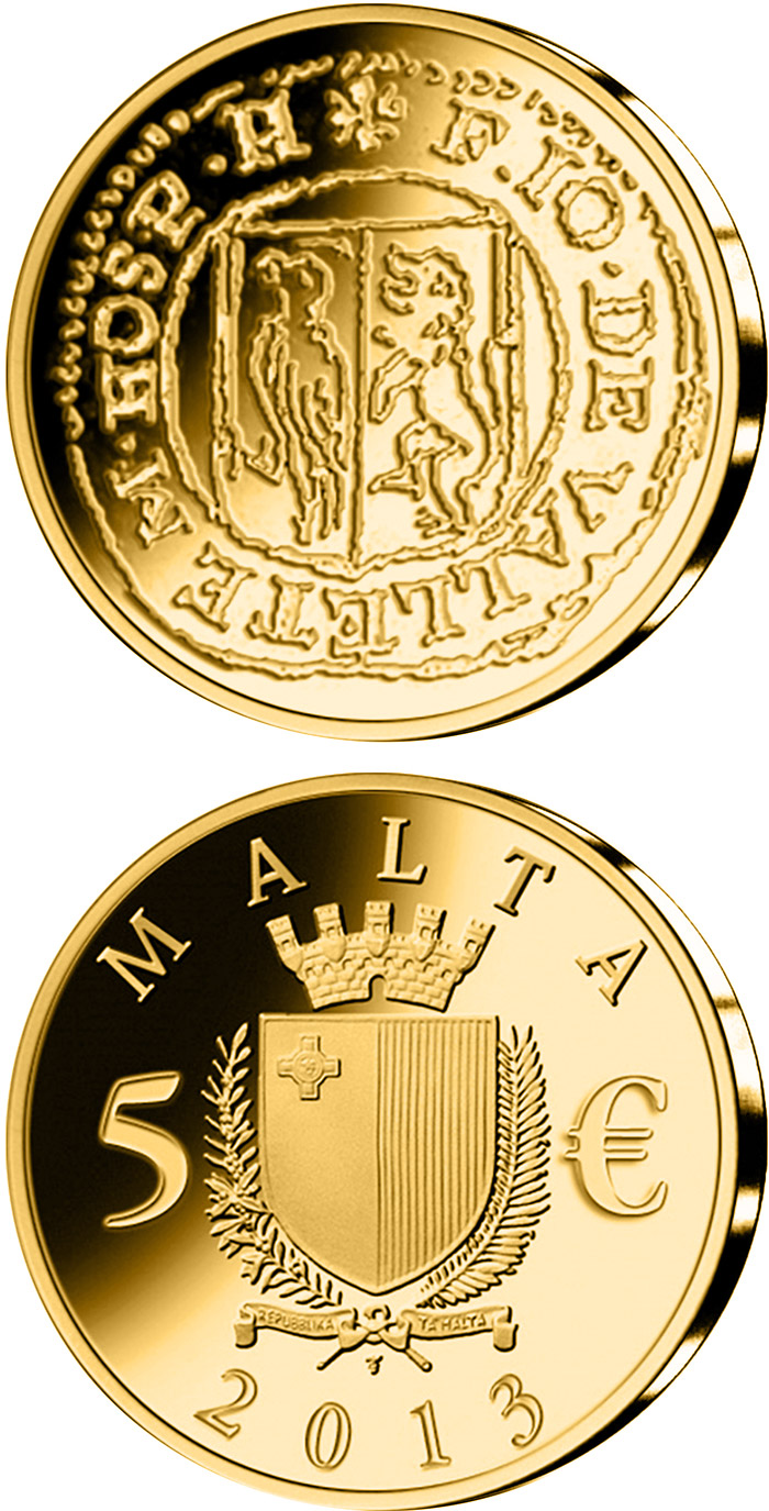 5 euro coin picciolo malta 2013. Black Bedroom Furniture Sets. Home Design Ideas