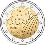2 euro coin Solidarity children - Nature | Malta 2019