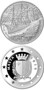 10 euro coin 150th Anniversary of the Suez Canal  | Malta 2019