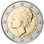 2 euro coin 25th Anniversary of the Death of Grace Kelly | Monaco 2007