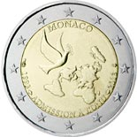 2 euro coin 20 years membership of the United Nations | Monaco 2013