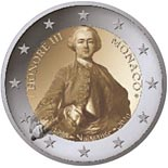 2 euro coin 300th Anniversary of the Birth of Prince Honoré III | Monaco 2020