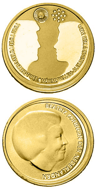 Gold 10 Euro Coins The 10 Euro Coin Series From Netherlands