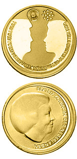 10 euro Wedding of the Crown Prince  - 2002 - Series: Gold 10 euro coins - Netherlands