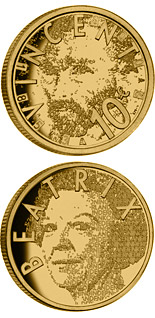 10 euro coin 150th birthday of Vincent van Gogh  | Netherlands 2003