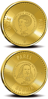 10 euro 400th birthday of Michiel Adriaenszoon de Ruyter  - 2007 - Series: Gold 10 euro coins - Netherlands