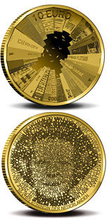 10 euro Architecture in Netherlands  - 2008 - Series: Gold 10 euro coins - Netherlands