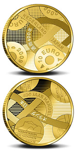 10 euro 400 years Trade relations with Japan  - 2009 - Series: Gold 10 euro coins - Netherlands