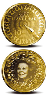 10 euro Max Havelaar - 2010 - Series: Gold 10 euro coins - Netherlands
