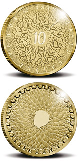 10 euro 50th Anniversary of the World Wildlife Fund (WWF)  - 2011 - Series: Gold 10 euro coins - Netherlands