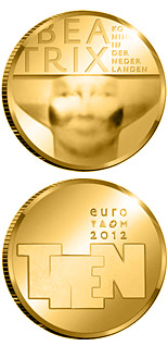 10 euro Sculpture - 2012 - Series: Gold 10 euro coins - Netherlands