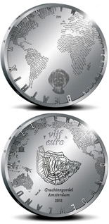 5 euro 400 years of the Amsterdam Grachtengordel - 2012 - Series: Silver 5 euro coins - Netherlands