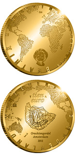 10 euro 400 years of the Amsterdam Grachtengordel - 2012 - Series: Gold 10 euro coins - Netherlands