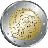2 euro coin 200 Years of Kingdom | Netherlands 2013