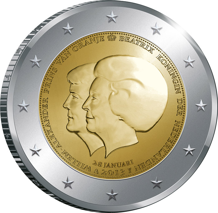 Netherlands - 2 euros - The Double Portrait