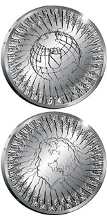 5 euro 300 years of the Treaty of Utrecht - 2013 - Series: Silver 5 euro coins - Netherlands