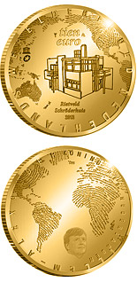 10 euro The Rietveld Five Euro - 2013 - Series: Gold 10 euro coins - Netherlands